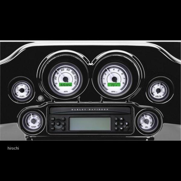 【USA在庫あり】 ダコタデジタル Dakota Digital メーター (6個入り) 96年-03年 白/グレー/黒 2212-0569 HD