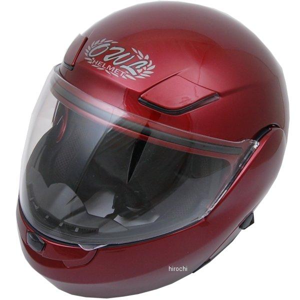 【メーカー在庫あり】 東単 アウル OWL システムヘルメット ハイブリッド キャンディレッド Sサイズ HHCR-S HD店