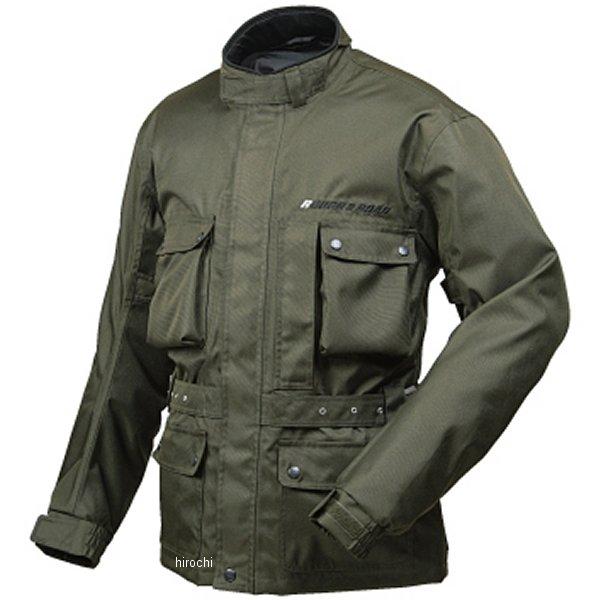 ラフ&ロード デュアルテックス トレイル ツーリング ジャケット オリーブ BLサイズ RR7210OVB3 HD店