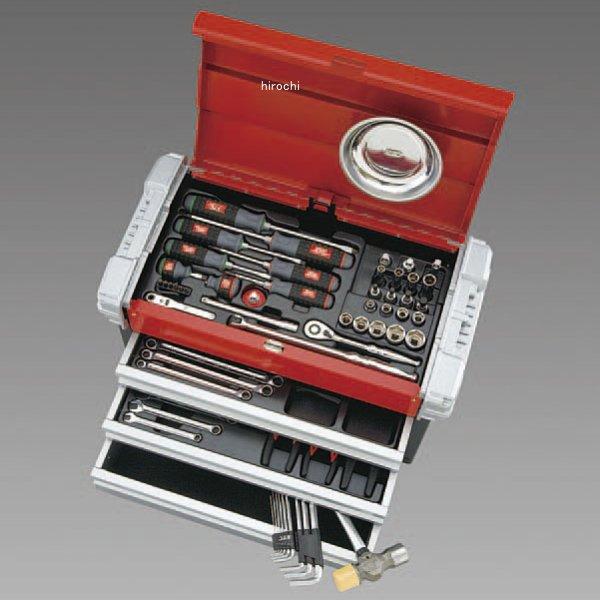 【メーカー在庫あり】 エスコ ESCO 66個組 工具セット 000012223410 HD店
