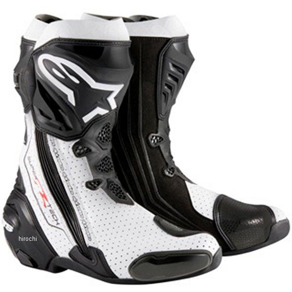 【メーカー在庫あり】 アルパインスターズ Alpinestars ブーツ Supertech-R 0015 黒/白 40サイズ 25.5cm 8051194746337 HD店