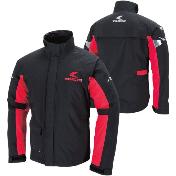 RSタイチ DRYMASTER レインスーツ 黒/赤 4XLサイズ RSR045BK024XL HD店
