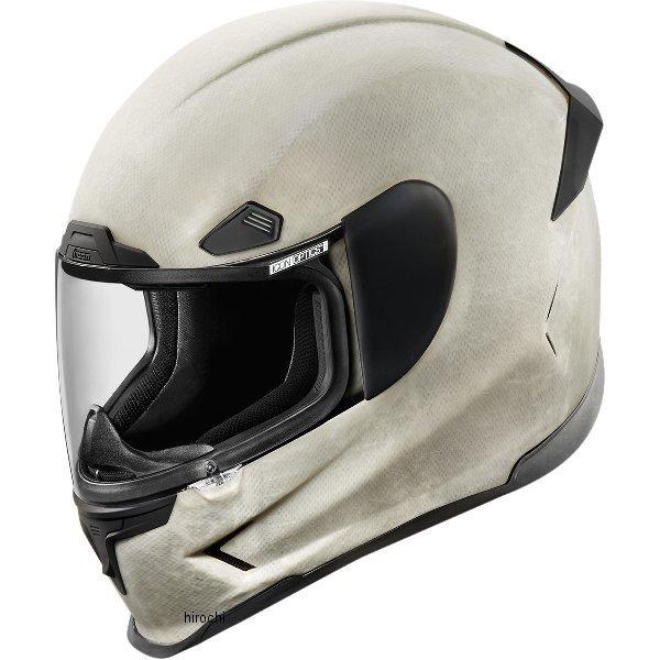 【USA在庫あり】 アイコン ICON フルフェイスヘルメット Airframe Pro コンストラクト/白 XLサイズ (61cm-62cm) 0101-8020 HD店