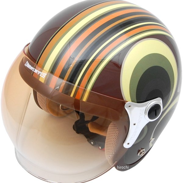 ダムトラックス DAMMTRAX ヘルメット RETRO MODERN 女性用 グリーン レディースサイズ(57cm-58cm) 4580184000073 HD店