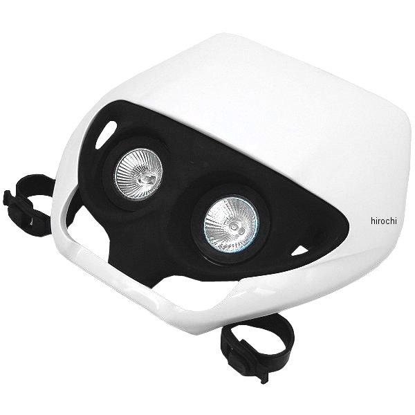 【USA在庫あり】 ユーフォープラスト UFO PLAST デュアル レンズ ヘッドライト 白 115454 HD店