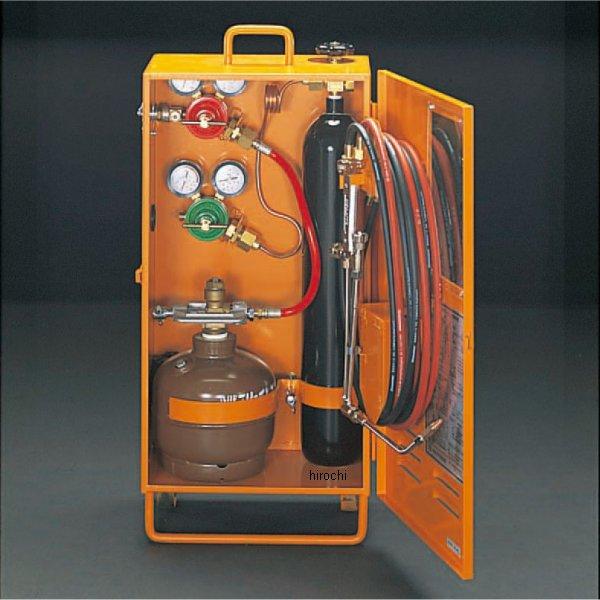 【メーカー在庫あり】 エスコ(ESCO) 溶接溶断セット(アセチレン 酸素) 000012010010 HD