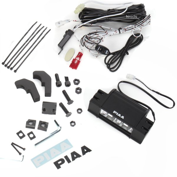 【USA在庫あり】 PIAA LEDライトバー 16W 長さ6インチ 152mm ドライビング配光 2001-0924 HD