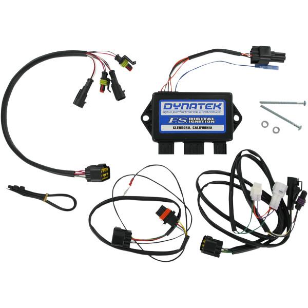 【USA在庫あり】 ダイナテック DYNATEK イグニッション FS システム 4プログラマブルタイミング 08年-10年 ポラリス Ranger 800 RZR 2102-0150 HD