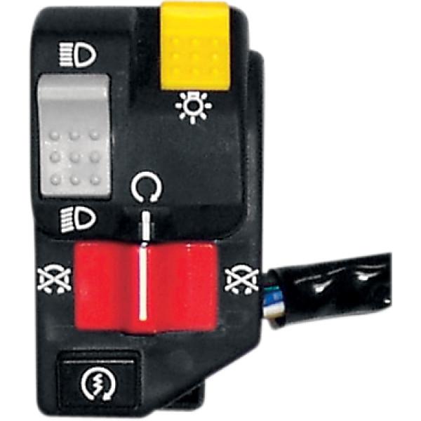 【USA在庫あり】 K&S ケーアンドエス ハンドルバー スイッチ配線 32インチ 812.8 mm (1個売り) 2106-0033 HD