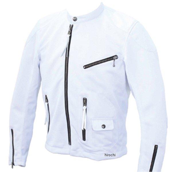6550 カドヤ KADOYA レザージャケット シングル KRM-1 白 3Lサイズ 4573208945962 HD店