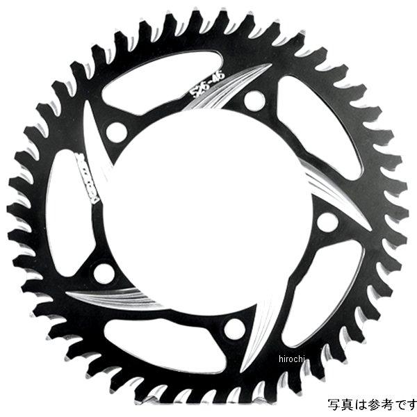 【USA在庫あり】 ボルテックス Vortex リア スプロケット 45T/520 90年-14年 ZX-9R、ZX750F、KLE650 アルミ 黒 (CAT5) 573575 HD
