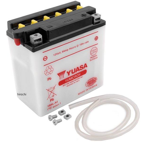 【USA在庫あり】 ユアサ バッテリー 開放型 YB9L-A2 581116 HD店