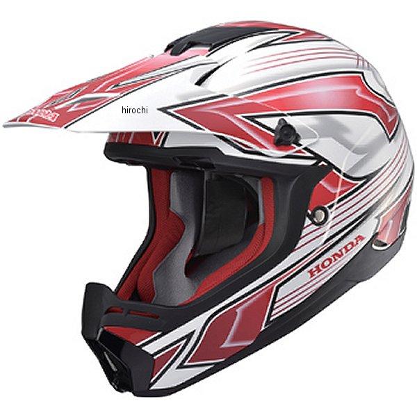 ホンダ純正 オフロードヘルメット XP913 CHARGER 白/赤 Lサイズ (59cm-60cm) 0SHTP-X913-W1 HD店