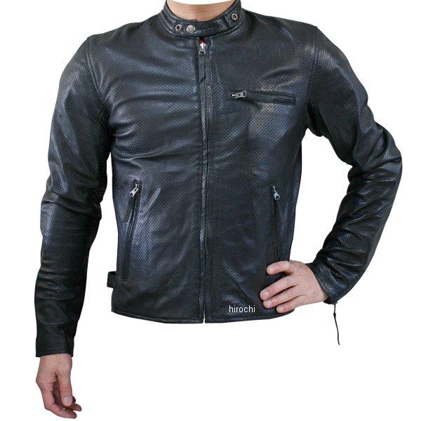 モトフィールド MOTO FIELD シープパンチングレザージャケット 黒 3Lサイズ MF-LJ011P HD店