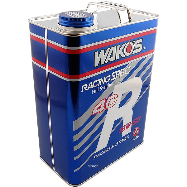 ワコーズ WAKO'S 4CR-50 フォーシーアール 15W-50 4リットル 4本セット E425 HD店