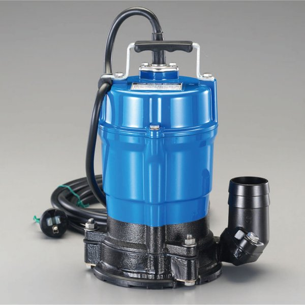 エスコ(ESCO) AC100V(50Hz)/50mm 水中ポンプ(低水位) 000012206004 HD