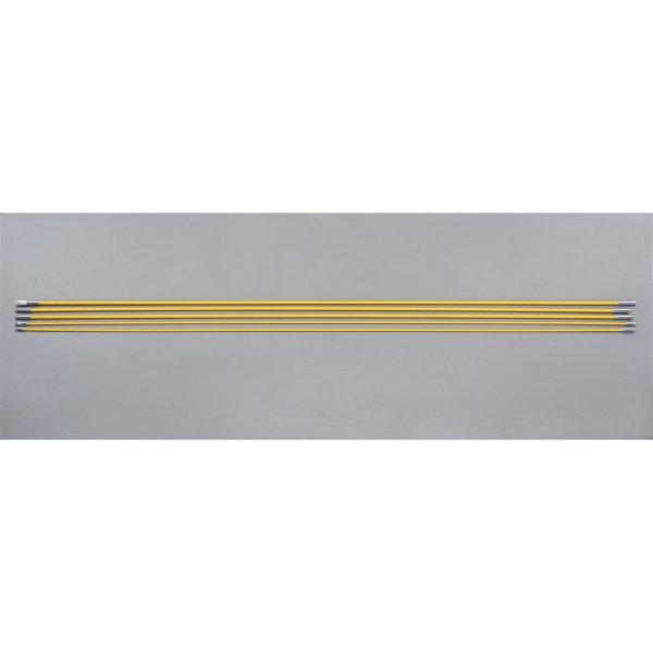 【メーカー在庫あり】 エスコ ESCO 4.5mm/6.5mmx1.5m FRP通線ロッド(5本組) 000012255984 HD店