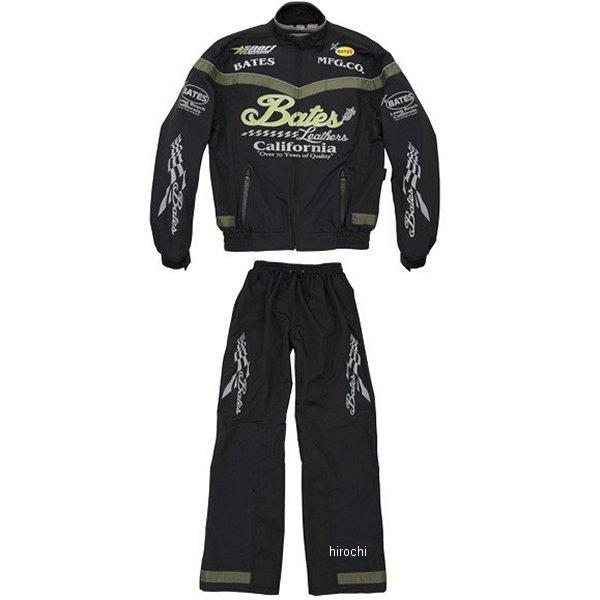【メーカー在庫あり】 ベイツ BATES レインスーツ 緑 Mサイズ BAR-004 HD店