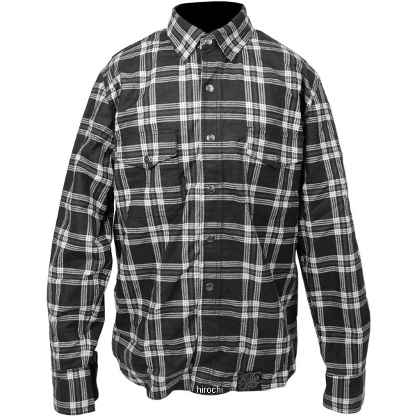 【USA在庫あり】 スピードアンドストレングス モトシャツ Black Nine 黒/白3XLサイズ 878048 HD店
