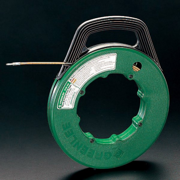 【メーカー在庫あり】 エスコ ESCO 4.8mmx30m フィッシュテープ(フレキシブルスチ-ル製 000012015297 HD店