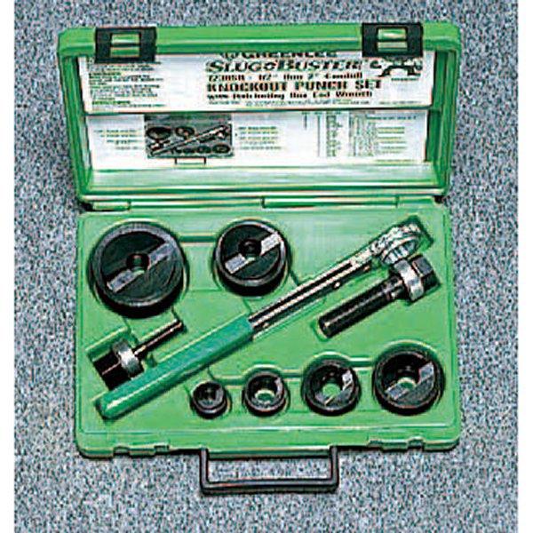 【メーカー在庫あり】 エスコ ESCO 22.5-61.5mm パンチセット(ラチェットハンドル付) 000012015362 HD店