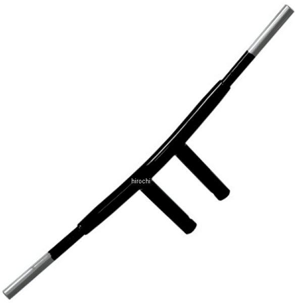 【USA在庫あり】 DRAG 1.5インチ ハンドルバー 6インチ T-バー ラディウス 黒 0601-1581 HD