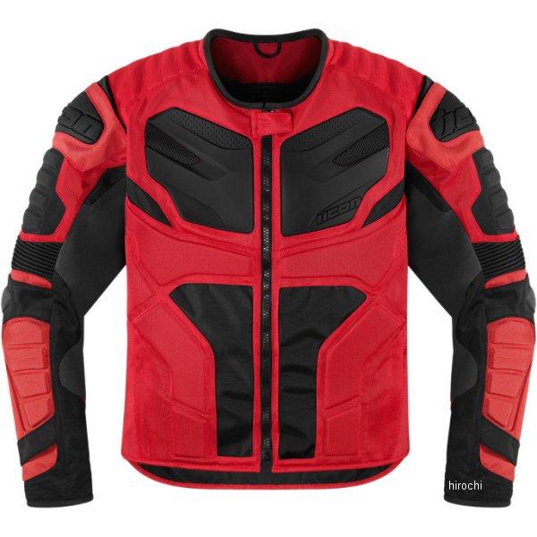 アイコン ICON ジャケット オーバーロード レジスタンス 赤 XLサイズ 2820-2674 HD店