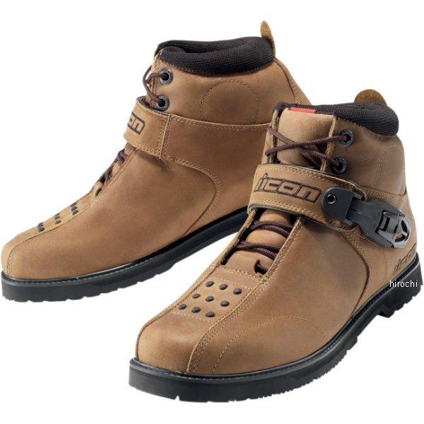 【メーカー在庫あり】 アイコン ICON ブーツ SUPERDUTY4 ブラウン 12サイズ 30cm 3403-0230 HD店