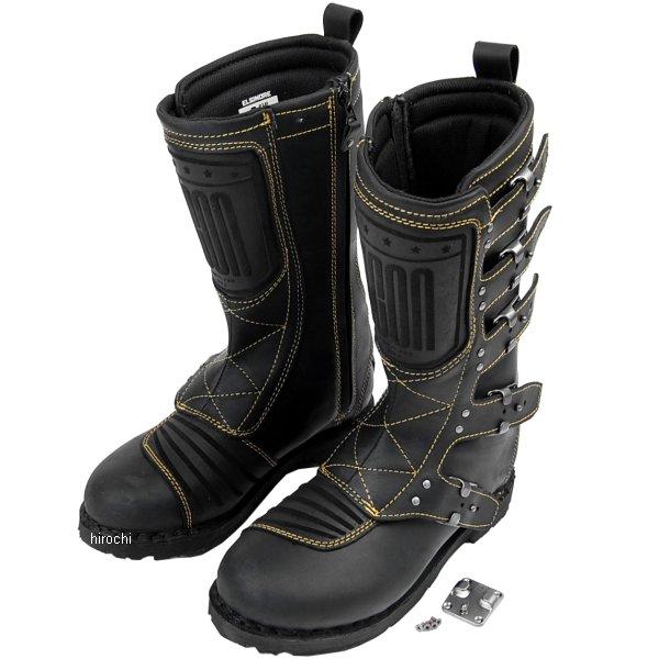 【メーカー在庫あり】 アイコン ICON ブーツ ELSINORE 黒 13サイズ 31cm 3403-0305 HD店