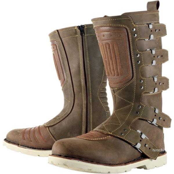 【メーカー在庫あり】 アイコン ICON ブーツ ELSINORE ブラウン 12サイズ 30cm 3403-0315 HD店
