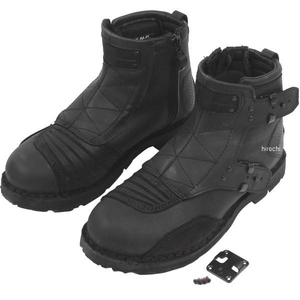 【メーカー在庫あり】 アイコン ICON ブーツ El Bajo 黒 14サイズ 32cm 3403-0347 HD店