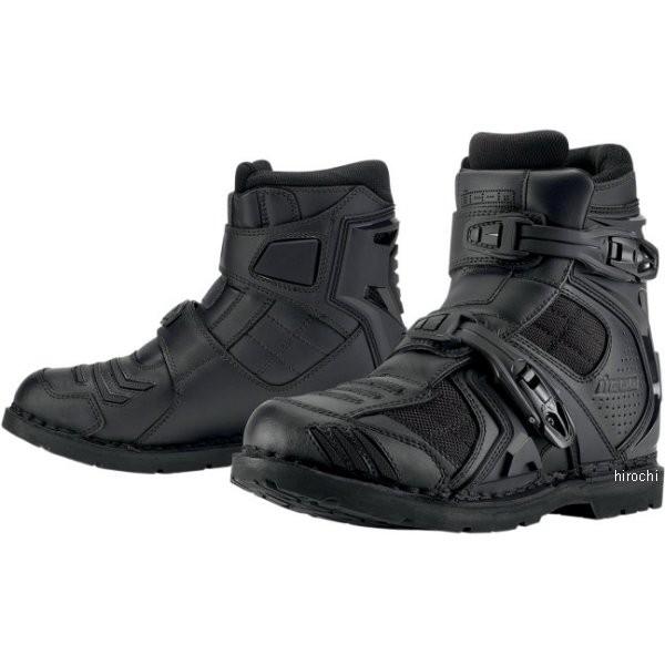 【メーカー在庫あり】 34030569 アイコン ICON ブーツ CE FIELDARMR2 黒 11サイズ 29cm 3403-0569 HD店