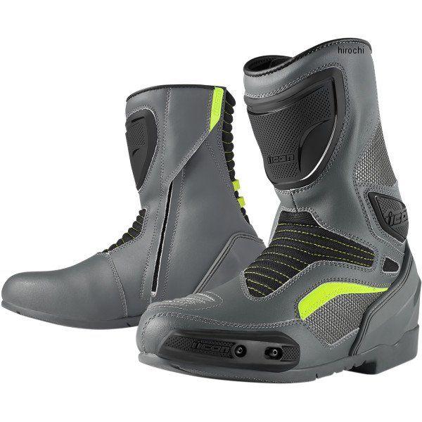 【メーカー在庫あり】 アイコン ICON ブーツ CE OVRLRD グレー 10.5サイズ 28.5cm 3403-0601 HD店