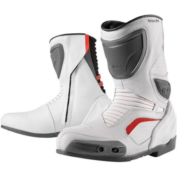 【メーカー在庫あり】 アイコン ICON ブーツ CE OVRLRD 白 14サイズ 32cm 3403-0617 HD店