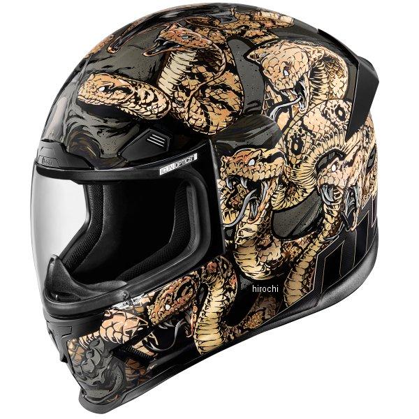 アイコン ICON ヘルメット エアフレーム PRO コットンマウス ゴールド XSサイズ (53cm-54cm) 0101-9325 HD店