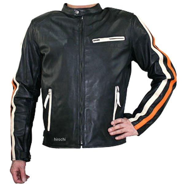 モトフィールド MOTO FIELD レザージャケット アイボリー/オレンジ 5Lサイズ MF-LJ100K HD店