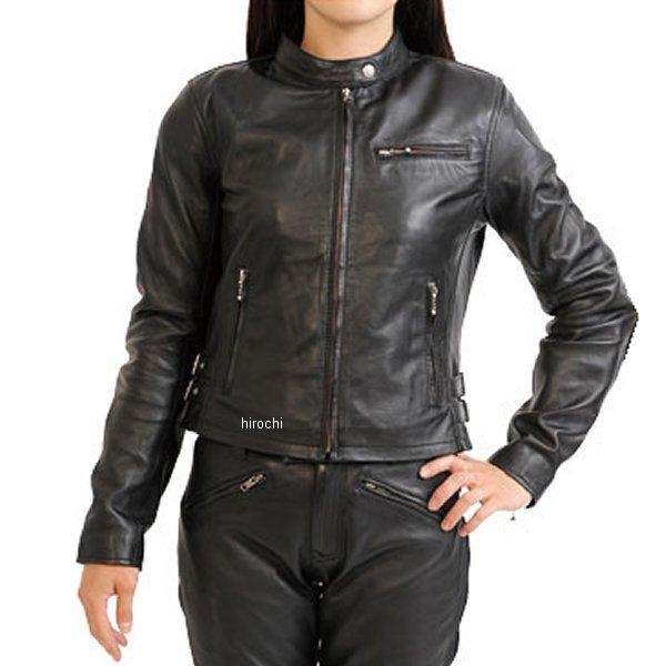 モトフィールド MOTO FIELD レザージャケット レディース 黒 Sサイズ MF-LJ102 HD店