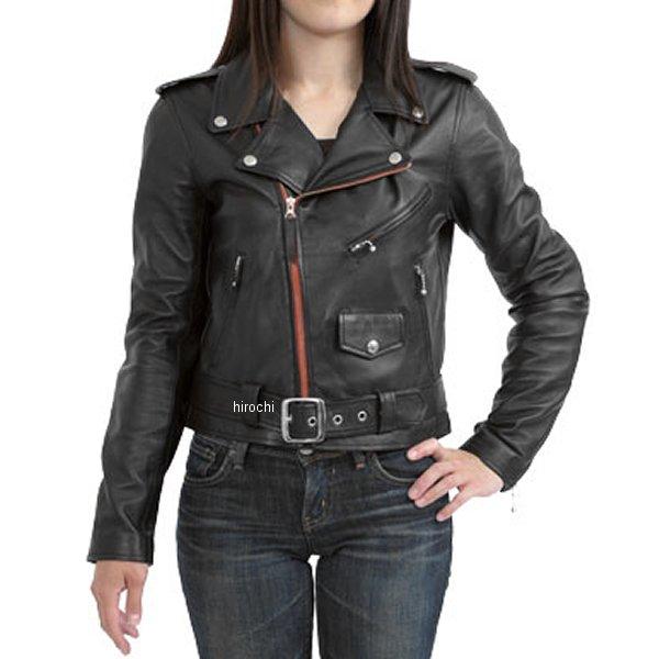 モトフィールド MOTO FIELD レザージャケット レディース 黒 Lサイズ MF-LJ103 HD店