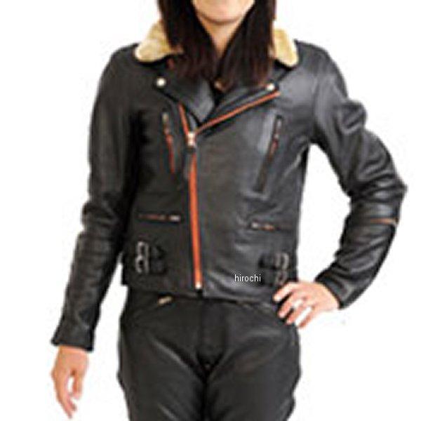 モトフィールド MOTO FIELD レザージャケット レディース 黒 LLサイズ MF-LJ104 HD店