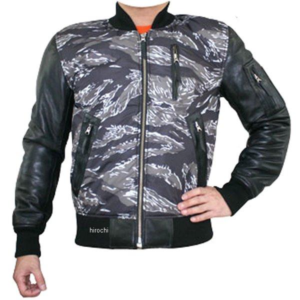 モトフィールド MOTO FIELD レザージャケット タイガーカモグレー 3Lサイズ MF-LJ111 HD店