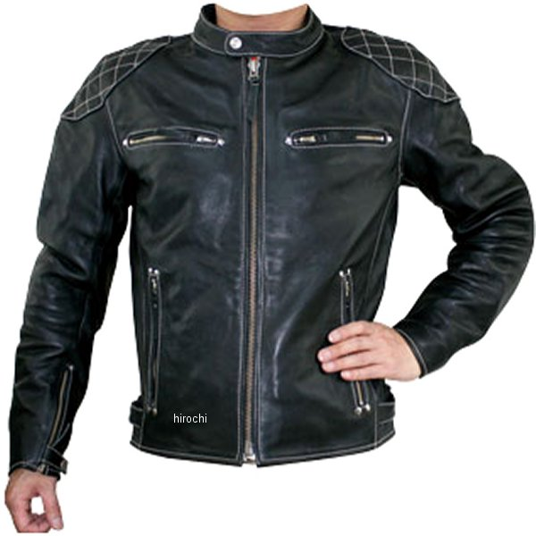 モトフィールド MOTO FIELD レザージャケット 黒 LLサイズ MF-LJ113 HD店