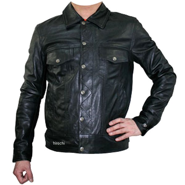 モトフィールド MOTO FIELD レザージャケット 黒 3Lサイズ MF-LJ95 HD店