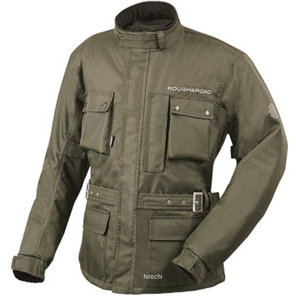 ラフ&ロード 2016年 秋冬モデル デュアルテックスウインタートレイルツーリングジャケット オリーブ Lサイズ RR7685OV3 HD店
