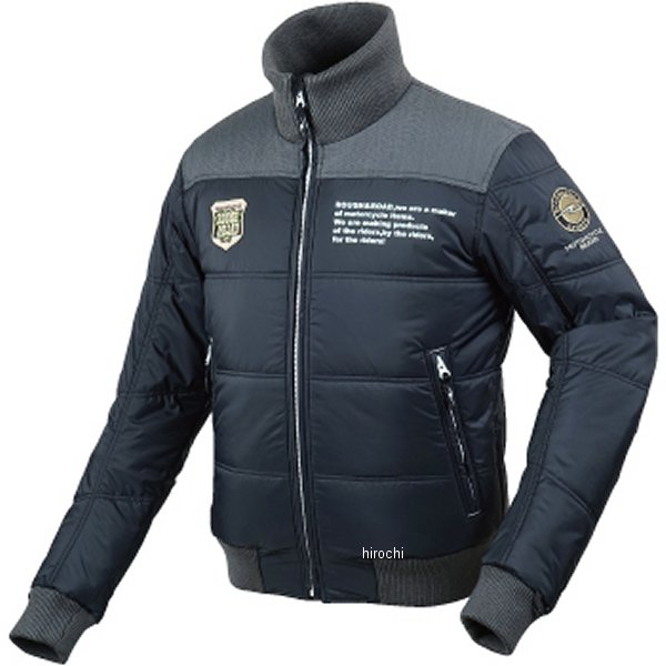 ラフ&ロード 秋冬モデル デュアルウォームジャケット 黒 Lサイズ RR7953BK3 HD店