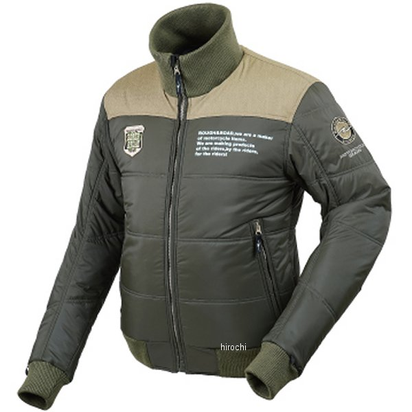 ラフ&ロード 秋冬モデル デュアルウォームジャケット オリーブ XLサイズ RR7953OV5 HD店