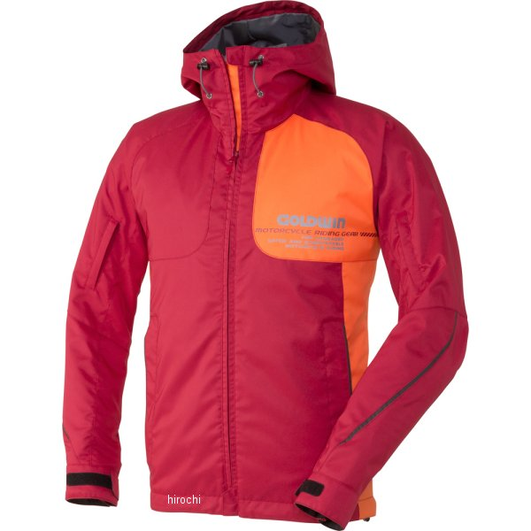 ゴールドウイン GOLDWIN GWSマルチフーデッドオールシーズンジャケット ディープレッド Mサイズ GSM12658 HD店