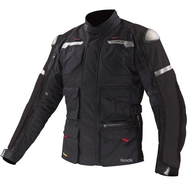 JK-578 コミネ GTX ツアラーウインタージャケット-チタニウム 黒 Lサイズ 4573325711020 HD店