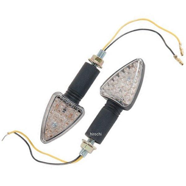 【USA在庫あり】 K&S ケーアンドエス 汎用 ミニ LED マーカーライト L95mmxW-38mm 黒/クリア 2040-0098 HD店
