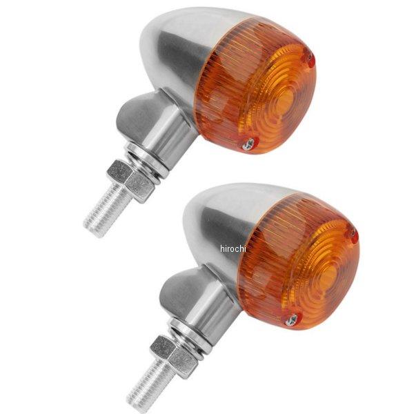 【USA在庫あり】 K&S ケーアンドエス マーカーライト LED16 アンバー レンズ47mm 全長71mm (シングル球) ポリッシュ 2040-1367 HD