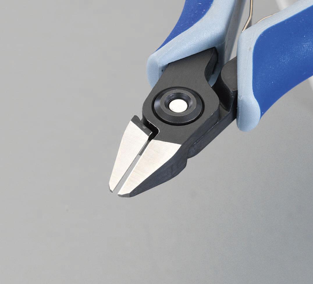 【メーカー在庫あり】 エスコ ESCO 125mm 精密用ニッパー(グリップ バネ付) 000012209082 HD